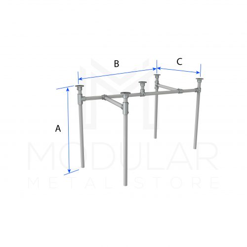 Diagonal Frame Table Dimensions