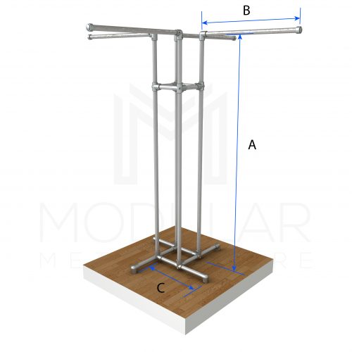 Free Standing 4 Way CR Dimensions