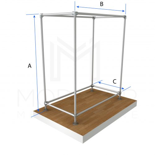 Free Standing Box CR Dimensions