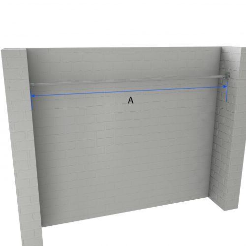 Straight Curtain Rail Dimensions