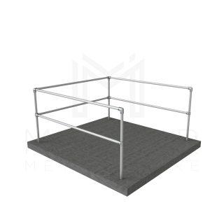 U Shaped Guardrail