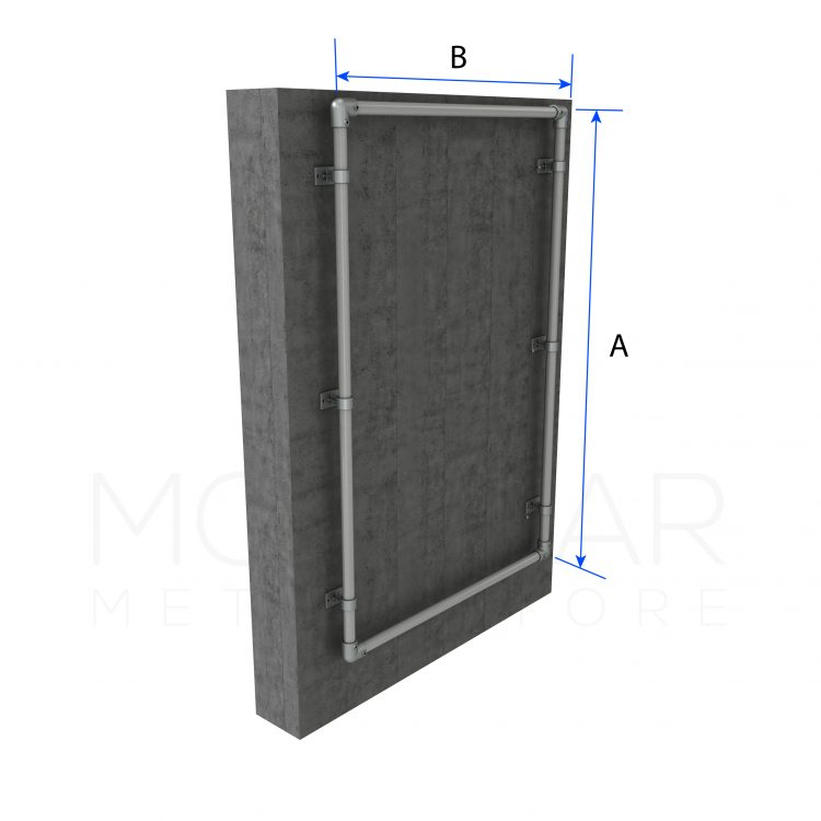 Wall Mounted Sign Frame Dimensions